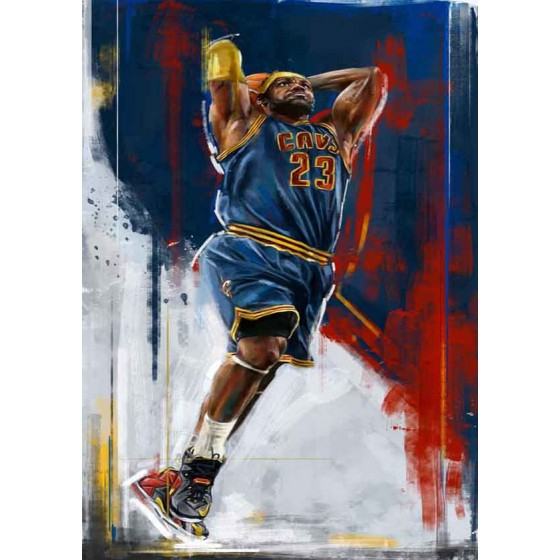 Quadro Decorativo NBA