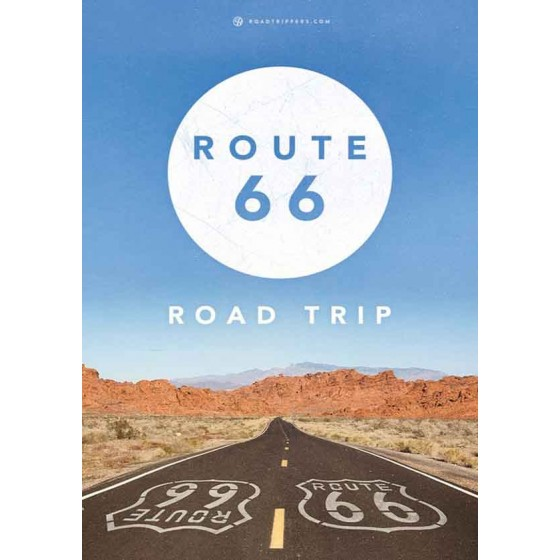 Quadro Decorativo Route 66